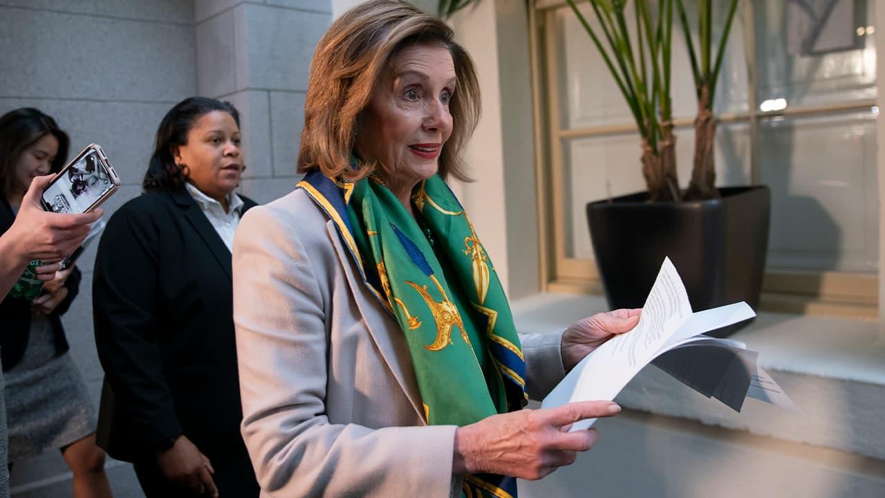 Photo of House Speaker Nancy Pelosi
