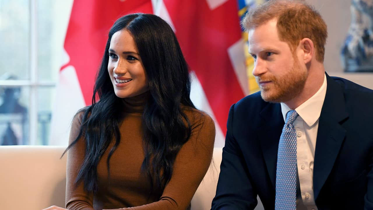 Photo of Britain's Prince Harry and Meghan, Duchess of Sussex