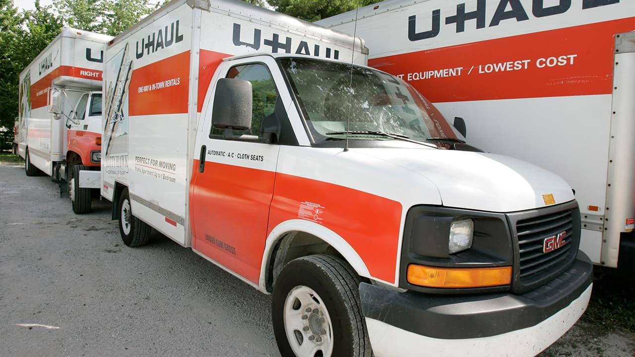 Photo of U-Haul moving truck