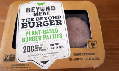 Photo of Beyond Meat burger