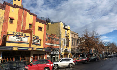 Photo of the Tower theatre in Bend, Ore.