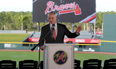 Photo of Baseball Commissioner Rob Manfred