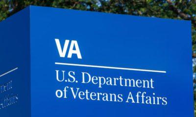 Photo of a U.S. Department of Veterans Affair sign