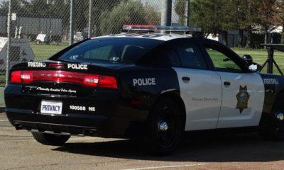 Photo of a Fresno Police car