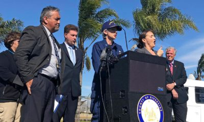 Photo of Dr. Nancy Knight, center, of the U.S. Centers for Disease Control and Prevention