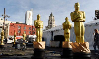 Photo of Oscar statues