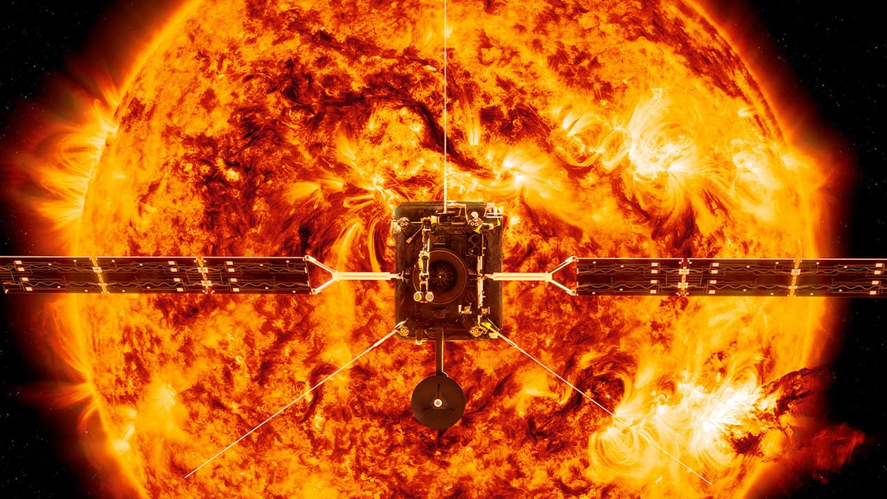 Photo of NASA's Solar Orbiter