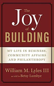 Cover of Bill Lyles' memoir written with Betsy Lumbye