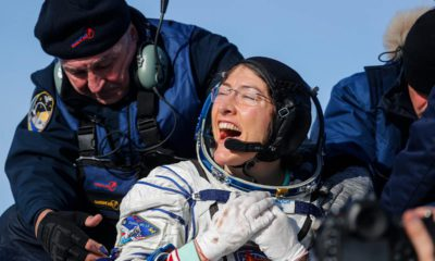 Photo of U.S. astronaut Christina Koch