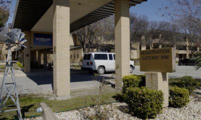 Photo of empty lodging facilities at Joint Base San Antonio-Lackland, Texas