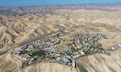 Photo of the West Bank Jewish settlement of Mitzpe Yeriho