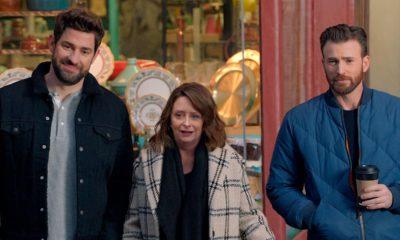 Photo of John Krasinski, Rachel Dratch and Chris Evans