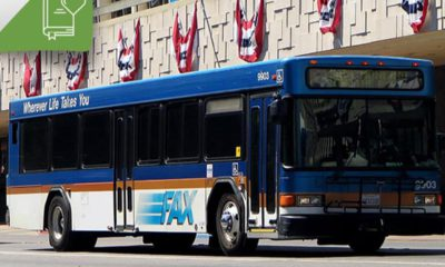 Photo of a FAX bus