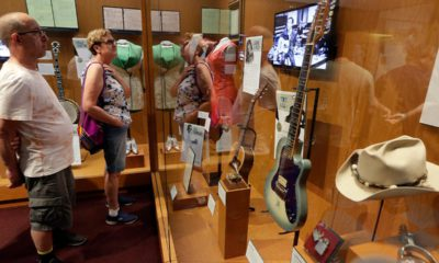 Photo of visitors to the Country Music Hall of Fame and Museum in Nashville, Tenn.