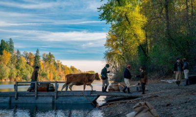 """Photo of a scene from """"First Cow."""""""