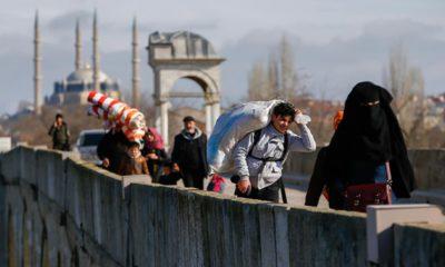 Photo of Turkish migrants