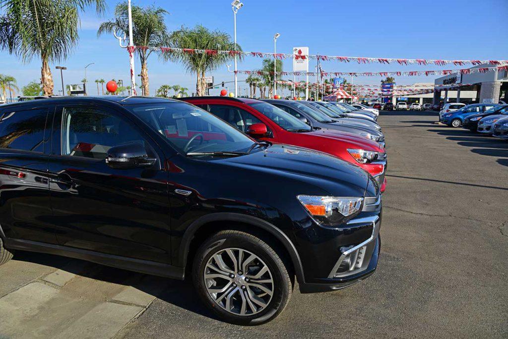 New car lot in Bakersfield