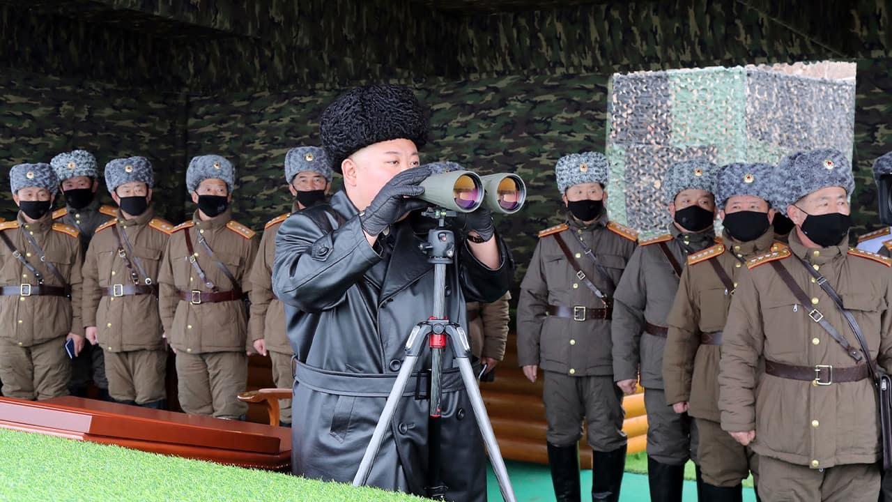 Photo of North Korean leader Kim Jong Un