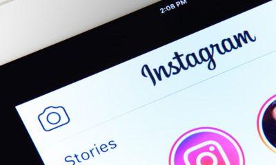 Image of Instagram app on a smartphone