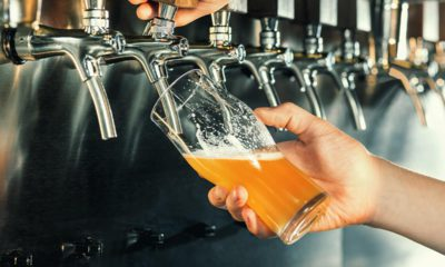 Photo of beer on tap