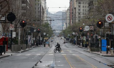 Photo of a bicyclist in San Francisco