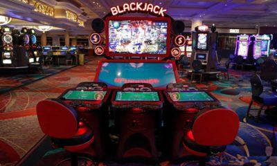 Photo of a blackjack game