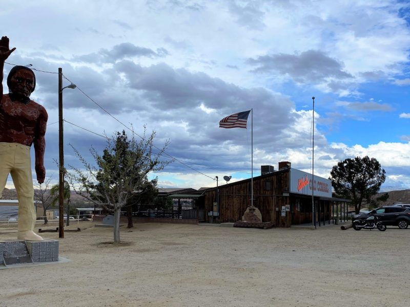 Photo of Ethel's Old Corral diner on Alfred Harrell Highway in Kern Water