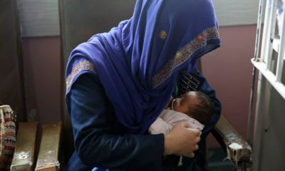Photo of a mother in Kabul