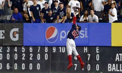 Photo of Boston Red Sox right fielder Mookie Betts