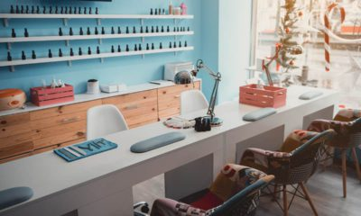 Photo of an empty nail salon