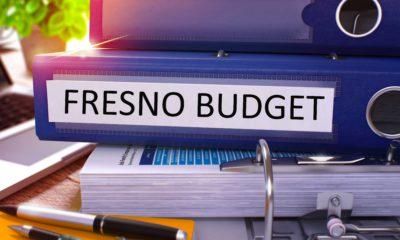 Image of city of Fresno budget binders