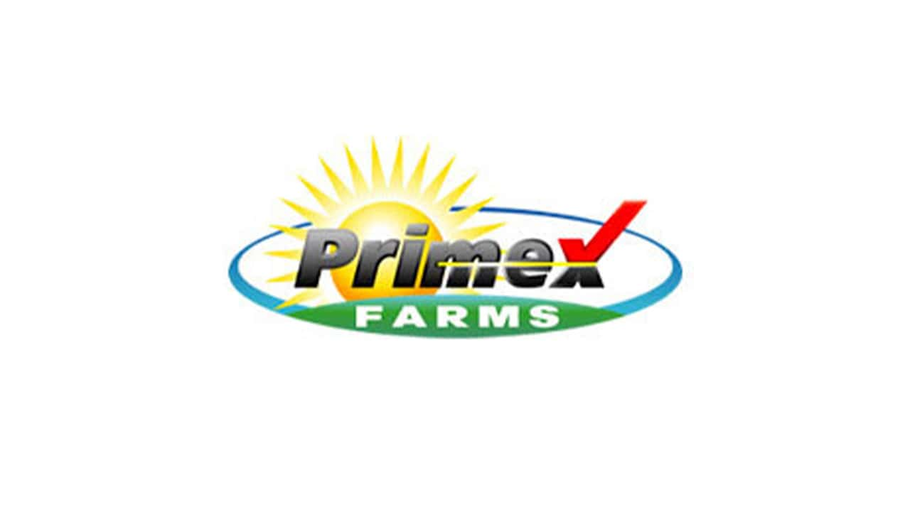 Image of a Primex Farms logo