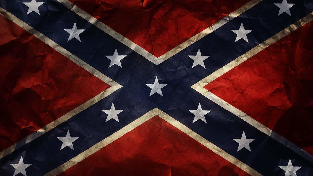 Image of a confederate flag