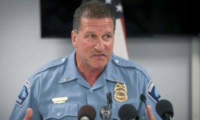 Photo of Minneapolis Police Union President Lt. Bob Kroll