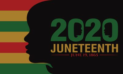 Image of the 2020 Juneteenth logo