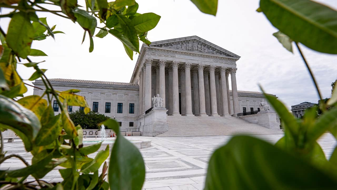 Photo of the Supreme Court building