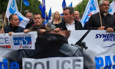 Photo of protests in France