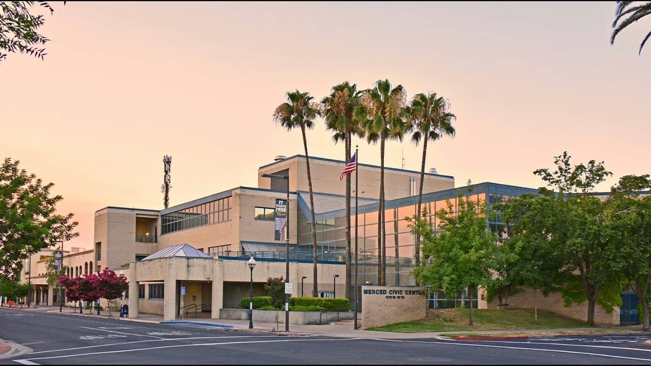 Image of the Merced (California) Civic Center