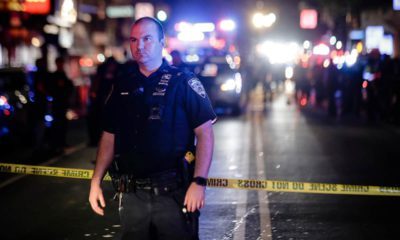 Photo of an NYPD officer