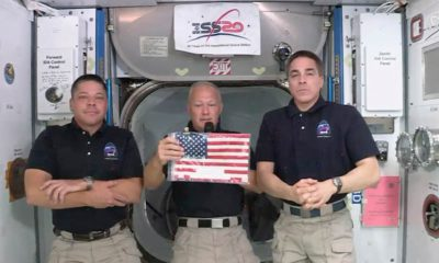 Photo of SpaceX astronauts