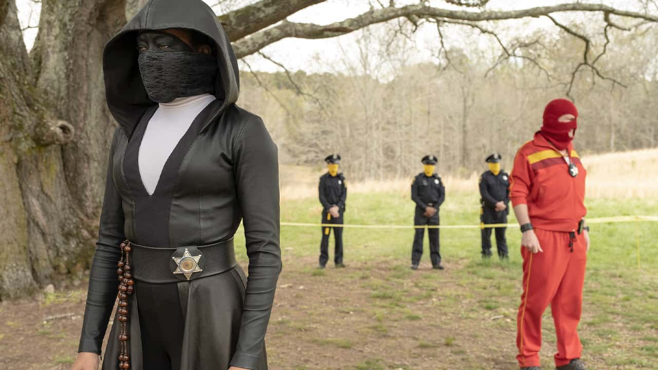 """Photo from a scene from """"Watchmen"""""""