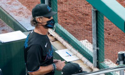 Photo of Miami Marlins' manager Don Mattingly