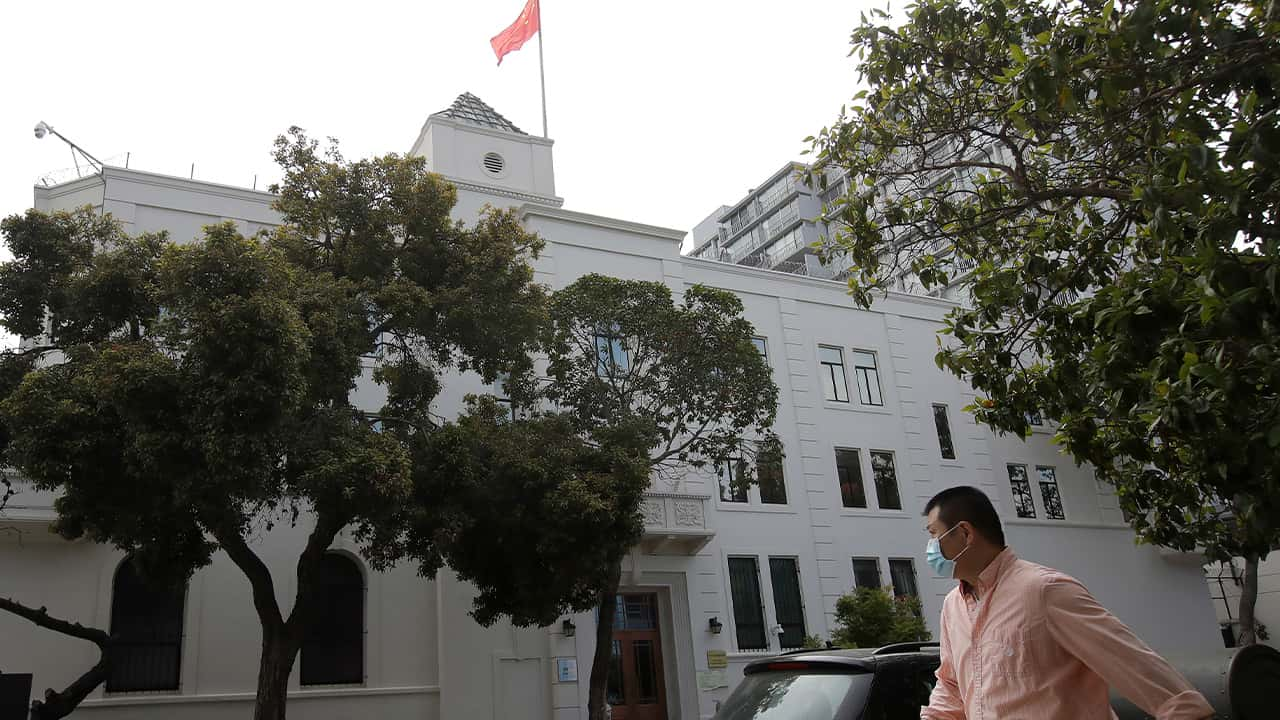 Photo of the Chinese Consulate in San Francisco