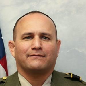 Portrait of former Tulare County Sheriff's Office Sgt. Richard Ramirez