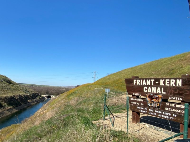 Image of the Friant-Kern Canal operated by the Bureau of Reclamation