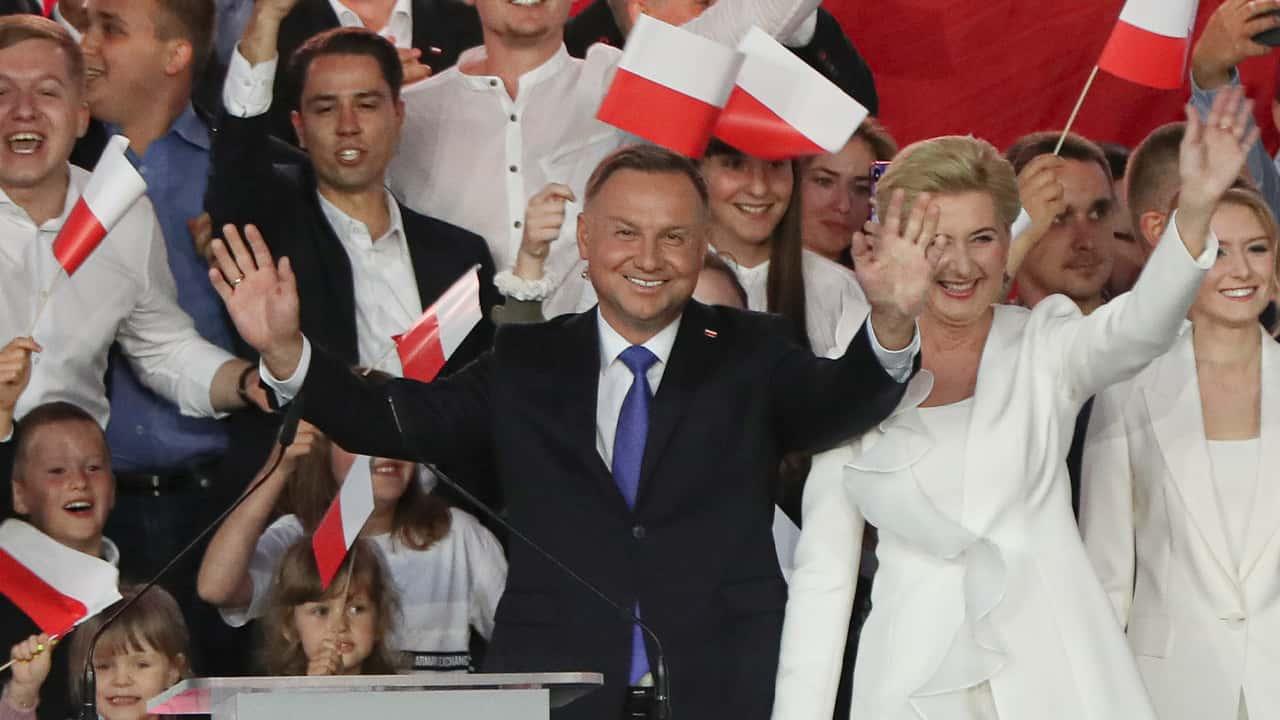 Photo of President Andrzej Duda