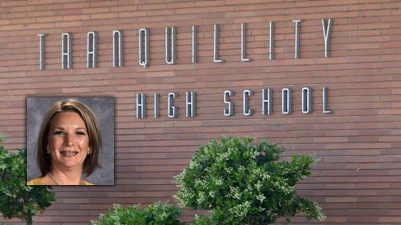 Portrait of Shannon Ables-Flack embedded in wall of Tranquillity HS photo