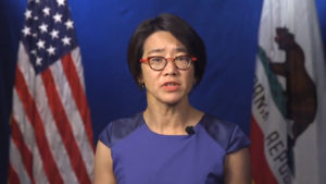 Photo of acting California public health officer Dr. Erica Pan