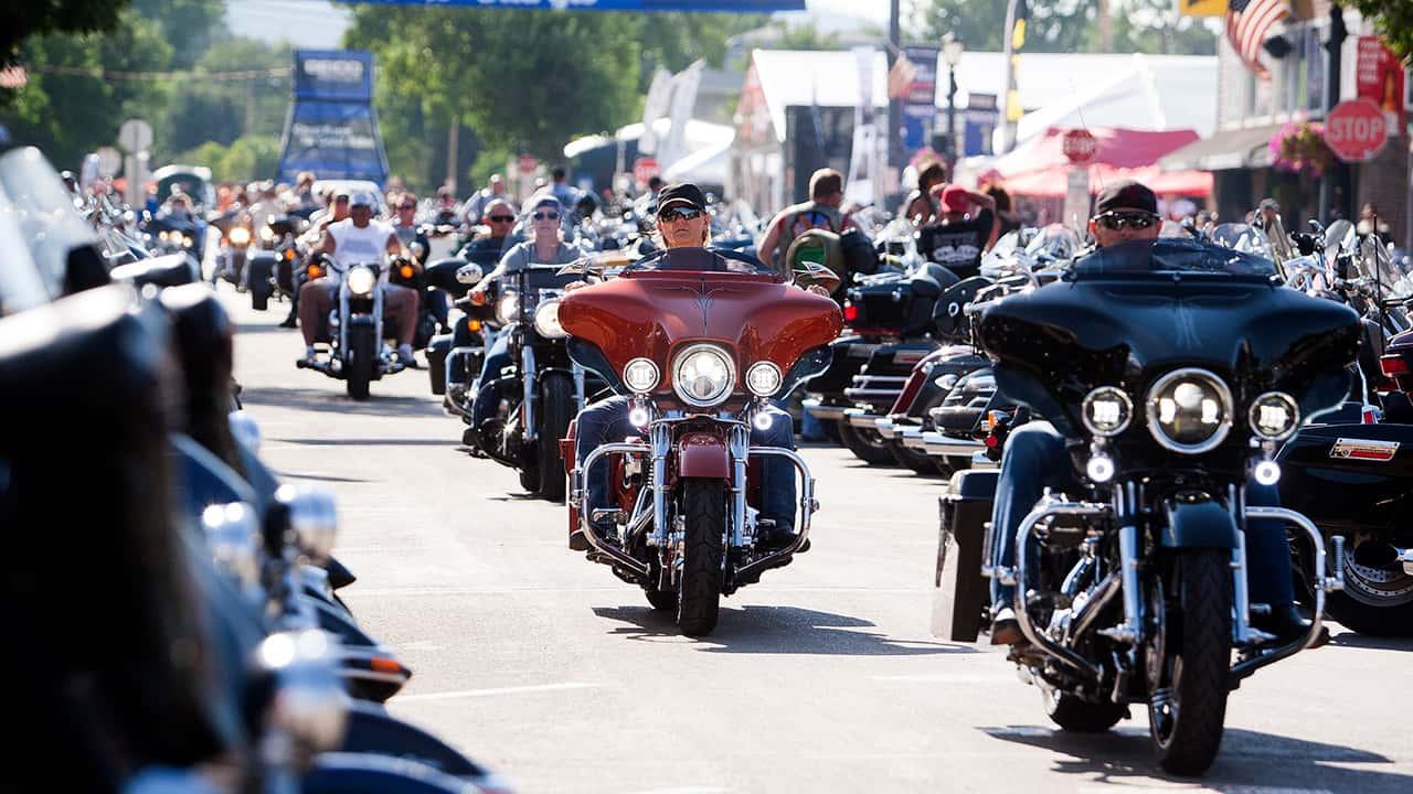 Photo of bikers