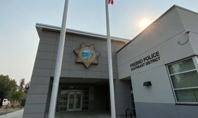 The new police station in southeast Fresno. (GV Wire/David Taub)